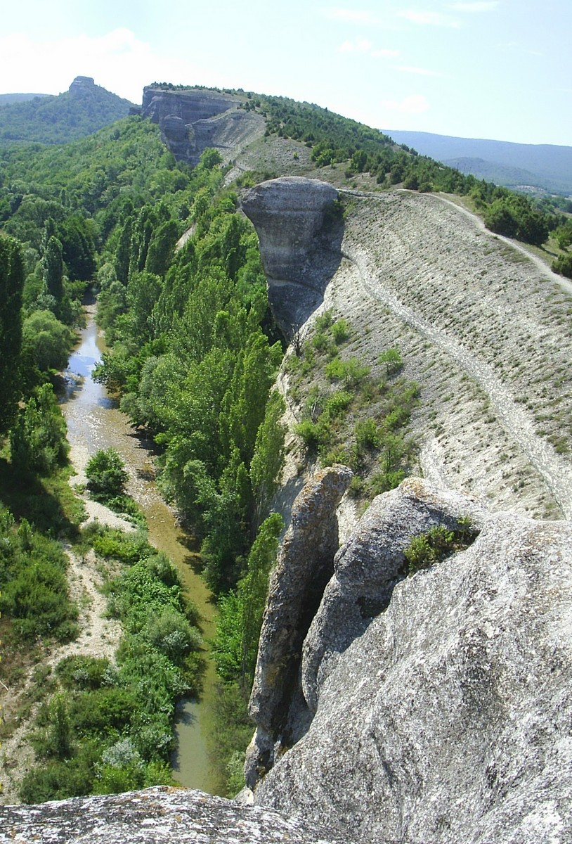 гора крокодил в крыму фото